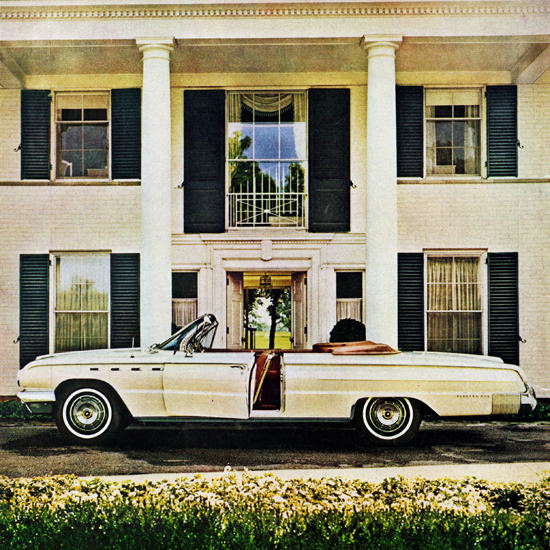 Detail Of Buick Electra 225 Convertible 1962 Possessions | Best of Vintage Ad Art 1891-1970