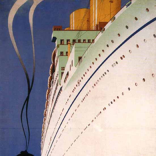 Detail Of Canadian Pacific Canada And USA 1931 B | Best of Vintage Ad Art 1891-1970