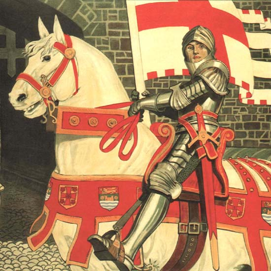 Detail Of Carlisle The Gateway To Scotland LMS 1924 UK | Best of Vintage Ad Art 1891-1970