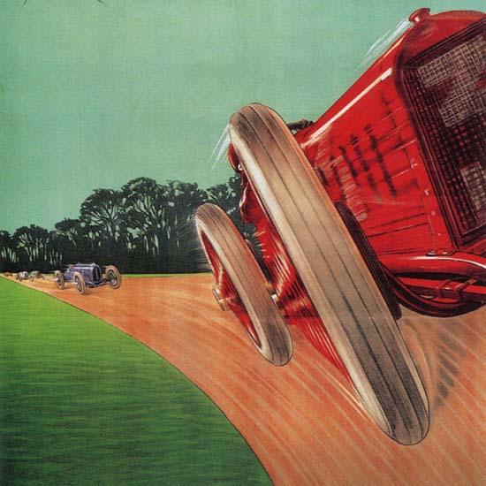 Detail Of Circuito Di Milano Italy Italia | Best of Vintage Ad Art 1891-1970