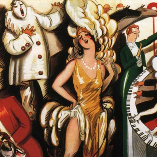 Detail Of Crosley Radio Argentinia   Best of Vintage Ad Art 1891-1970