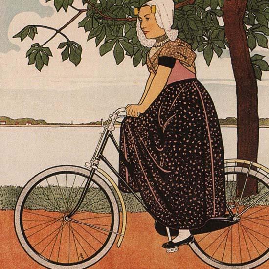 Detail Of De Hinde Is Een Juweeltje Fabriek Te Amsterdam | Best of Vintage Ad Art 1891-1970