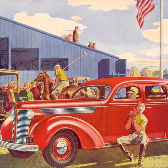 Detail Of DeSoto Major Bowes Amateur Hour 1937 | Best of 1930s Ad and Cover Art