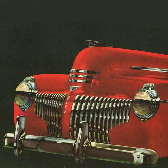 Detail Of DeSoto Sketch Book Of 1941 | Best of Vintage Ad Art 1891-1970