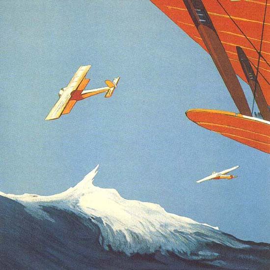 Detail Of Deutscher Seeflug 1926 | Best of 1920s Ad and Cover Art