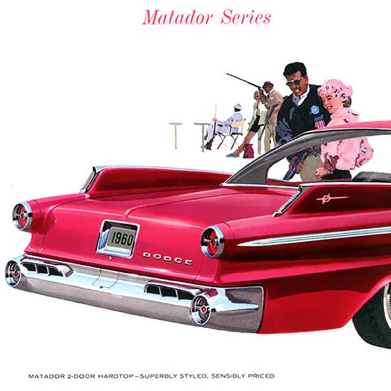 Detail Of Dodge Matador 1960 Red | Best of Vintage Ad Art 1891-1970