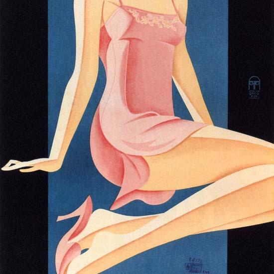 Detail Of Ero-Sil Duftende Waesche Schrumpfecht | Best of Vintage Ad Art 1891-1970