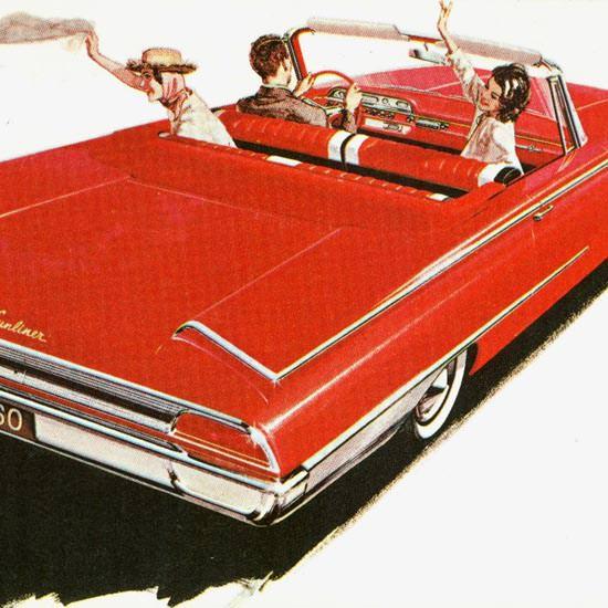 Detail Of Ford Sunliner 1960   Best of Vintage Ad Art 1891-1970
