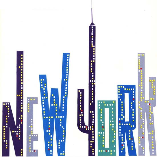 Detail Of Iberia New York 1966 | Best of Vintage Ad Art 1891-1970