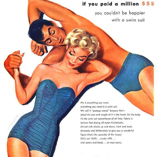 Detail Of Jantzen Swim Suits If You Paid A Million Best O All | Best of Vintage Ad Art 1891-1970