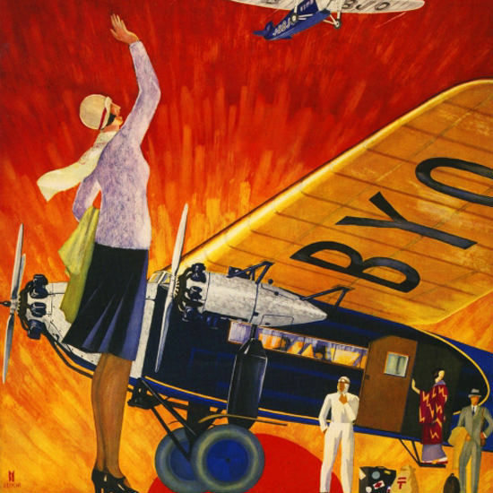 Detail Of Japan Air Transport Co Ltd 1932 | Best of Vintage Ad Art 1891-1970