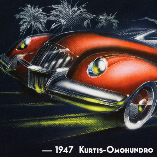Detail Of Kurtis Omohundro Comet 1947 Red | Best of Vintage Ad Art 1891-1970