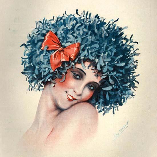 Detail Of La Vie Parisienne 1929 Porte Bonheur | Best of Vintage Ad Art 1891-1970