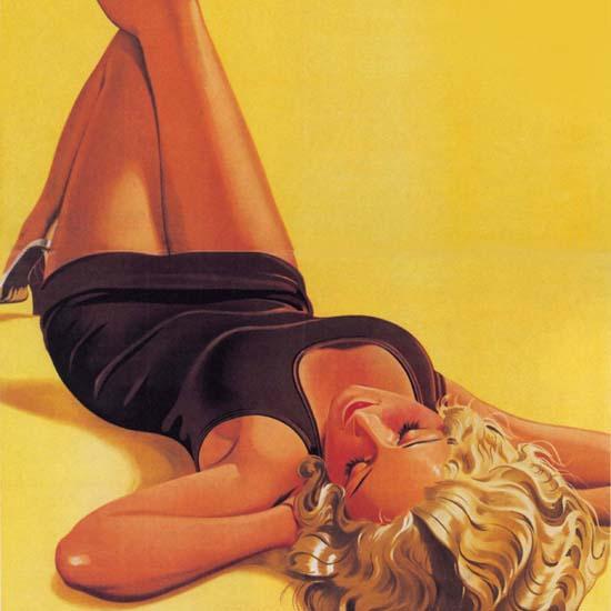 Detail Of Leokrem Braeunt Und Verjuengt Die Haut Austria 1933 | Best of Vintage Ad Art 1891-1970