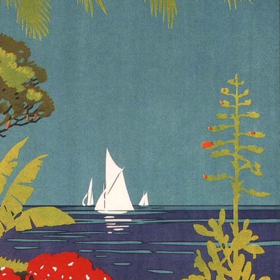 Detail Of Loano Statione Balneo-Climatica Riviera Spa Italia | Best of Vintage Ad Art 1891-1970