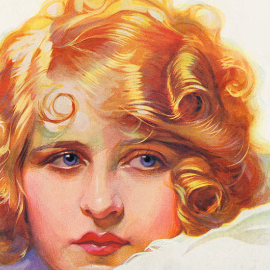 Detail Of Lucky Strike Cigarettes Angel Insteat Of A Sweet | Best of Vintage Ad Art 1891-1970