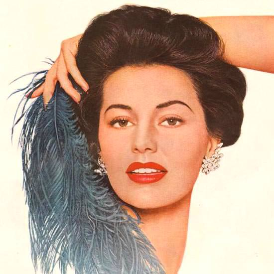 Detail Of Lux Soap Cyd Charisse Brigadoon 1954 | Best of Vintage Ad Art 1891-1970