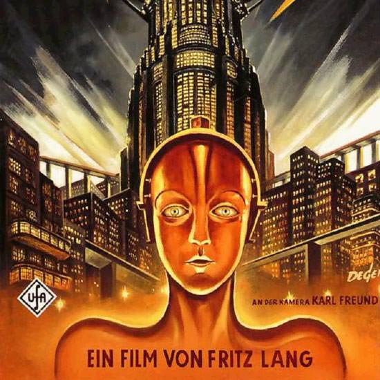 Detail Of Metropolis Movie Fritz Lang UfA 1927 | Best of 1920s Ad and Cover Art