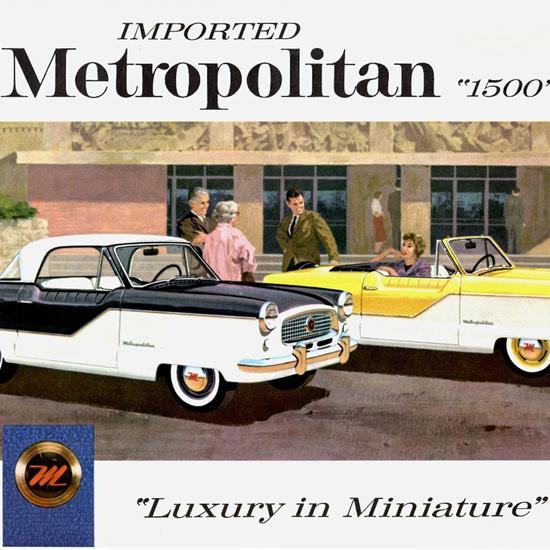 Detail Of Metropolitan 1500 Coupe Convertible 1959 Miniature | Best of Vintage Ad Art 1891-1970