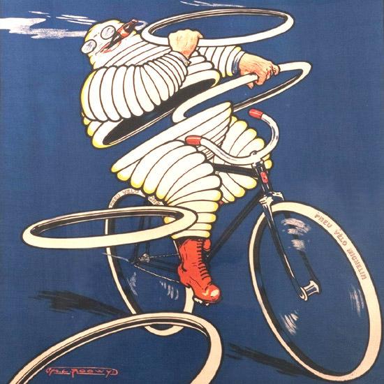 Detail Of Michelin Pneu Velo Le Meilleur Le Moins Cher 1912 | Best of Vintage Ad Art 1891-1970