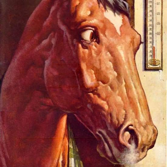 Detail Of Mobiloil Mobilgas Raymond Gram Swing 1942 | Best of Vintage Ad Art 1891-1970