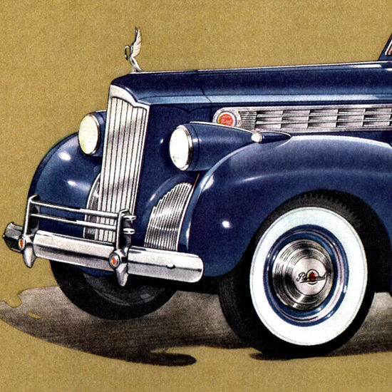 Detail Of Packard One Eighty Weather Cabriolet Rollson 1940 | Best of Vintage Ad Art 1891-1970