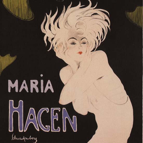 Detail Of Peter Pathe Maria Hegen Muenchen Germany B | Best of Vintage Ad Art 1891-1970