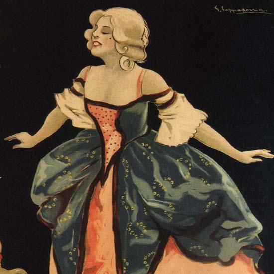 Detail Of Pezziol Zabajone Padova Vov Italy Itali | Best of Vintage Ad Art 1891-1970