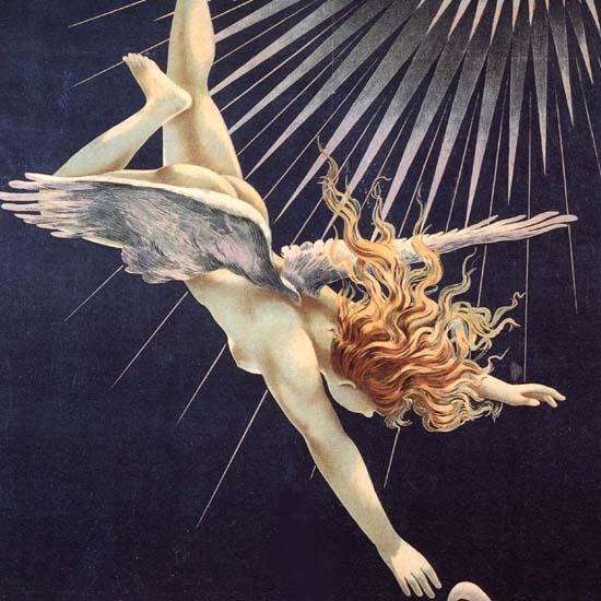 Detail Of Phebus Paris France | Best of Vintage Ad Art 1891-1970