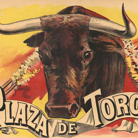 Detail Of Plaza De Toros 1893 | Best of Vintage Ad Art 1891-1970