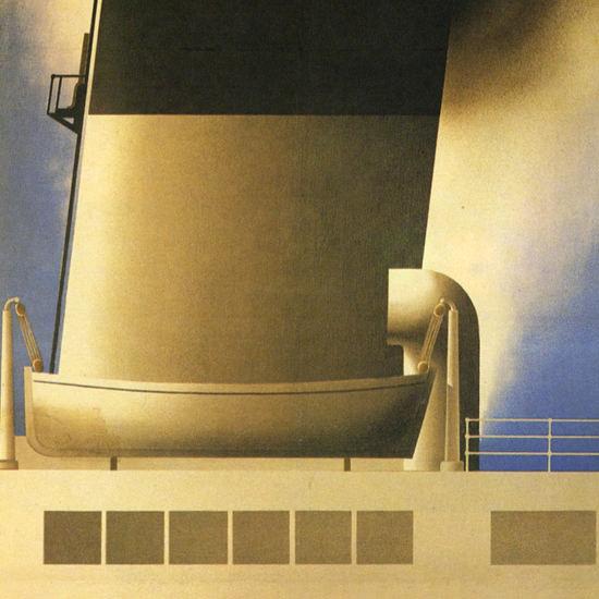 Detail Of SS Cote D Azur 1931 A M Cassandre | Best of Vintage Ad Art 1891-1970