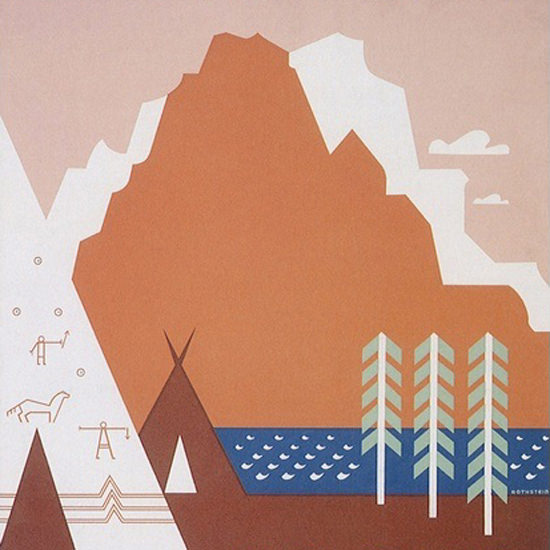 Detail Of See America Welcome To Montana US Travel   Best of Vintage Ad Art 1891-1970