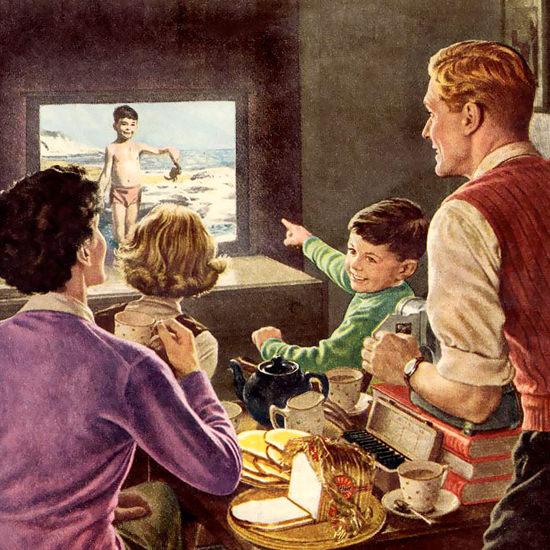 Detail Of Sunblest Bread 1950 Slide Show | Best of Vintage Ad Art 1891-1970