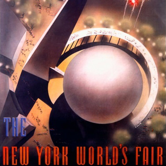 Detail Of Worlds Fair New York 1939 Nembhard Culin | Best of Vintage Ad Art 1891-1970