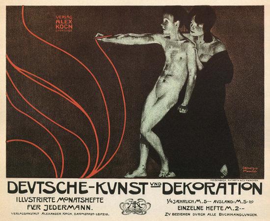 Deutsche Kunst Und Dekoration Art Magazine | Sex Appeal Vintage Ads and Covers 1891-1970