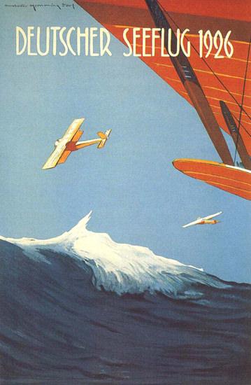 Deutscher Seeflug 1926 | Vintage Ad and Cover Art 1891-1970