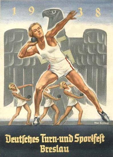 Deutsches Turn Und Sportfest Breslau 1938 | Sex Appeal Vintage Ads and Covers 1891-1970