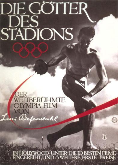 Die Goetter Des Stadions 1936 Leni Riefenstahl | Vintage War Propaganda Posters 1891-1970