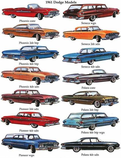 Dodge 1961 Models | Vintage Cars 1891-1970