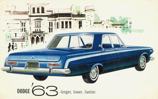Dodge 440 4 Door Chrysler International 1963 | Vintage Cars 1891-1970