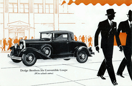 Dodge Brothers Six Convertible Coupe 1930 | Vintage Cars 1891-1970