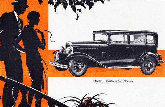 Dodge Brothers Six Sedan 1930 | Vintage Cars 1891-1970