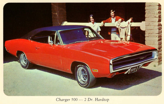 Dodge Charger 500 Hardtop 1970 Horse Power | Vintage Cars 1891-1970