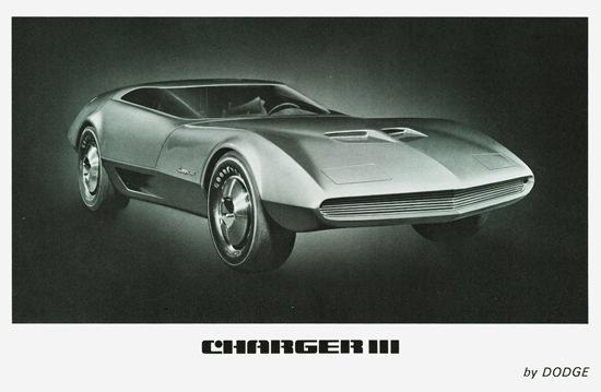 Dodge Charger III Concept Car 1967 | Vintage Cars 1891-1970