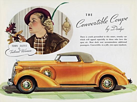 Dodge Convertible Coupe 1936 | Vintage Cars 1891-1970