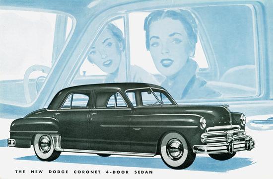 Dodge Coronet 4 Door Sedan 1950 | Vintage Cars 1891-1970