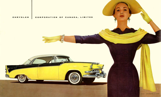 Dodge Custom Royal 1956 | Sex Appeal Vintage Ads and Covers 1891-1970
