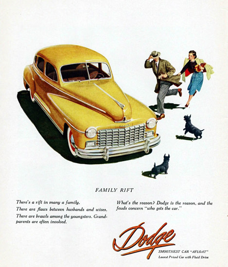 Dodge Custom Sedan 1948 | Vintage Cars 1891-1970