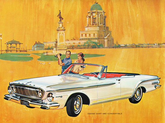 Dodge Dart 440 Convertible 1962 | Vintage Cars 1891-1970