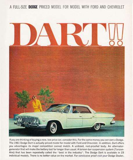 Dodge Dart Hardtop 1961 In 23 Models | Vintage Cars 1891-1970